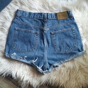 Calvin klein vintage high rise shorts
